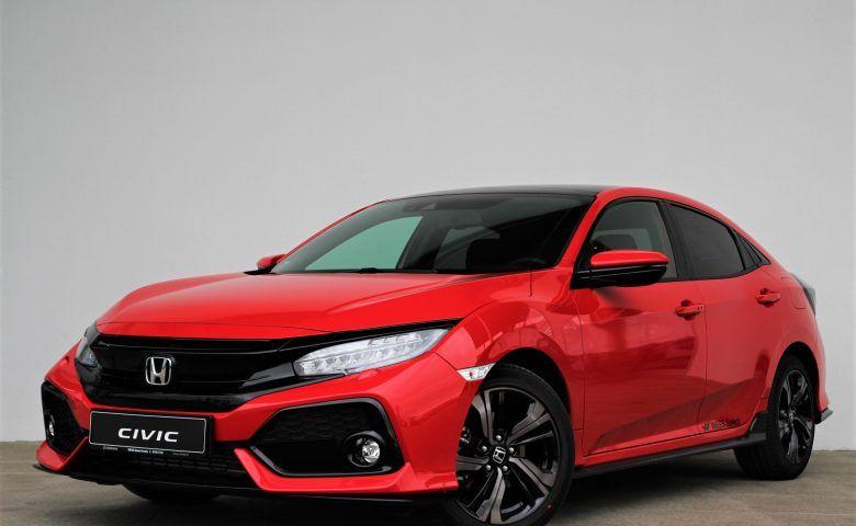 Honda Civic 5D Sport Plus Navi CVT, honda salons, jauna automašīna, wess select