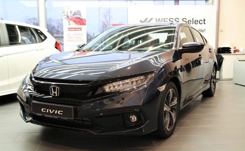 HONDA Civic 4D Elegance Navi CVT, honda salons, jauna automašīna, wess select