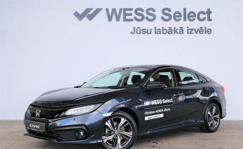 HONDA Civic 4D Elegance Navi CVT, honda salons, mazlietoti auto, wess select