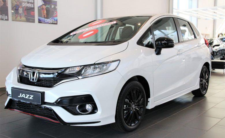 Jauna HONDA JAZZ Dynamic Navi ADAS CVT Wess Select Auto Salons
